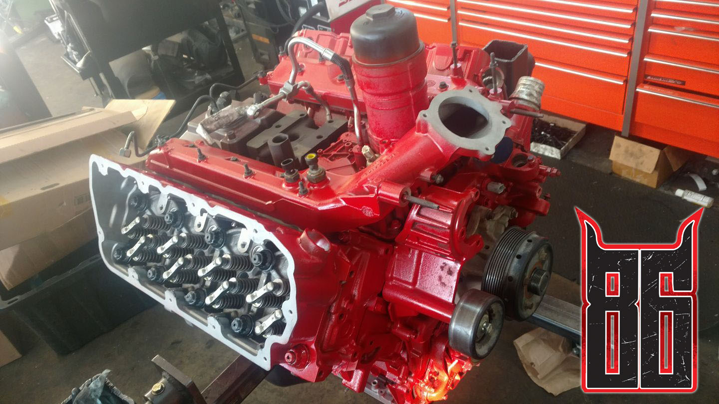 Ford 6.4L Engine Rebuilds