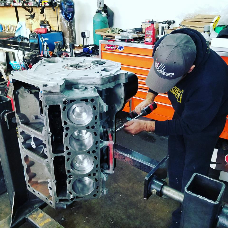 Utah Ford Powerstroke Engine Builds